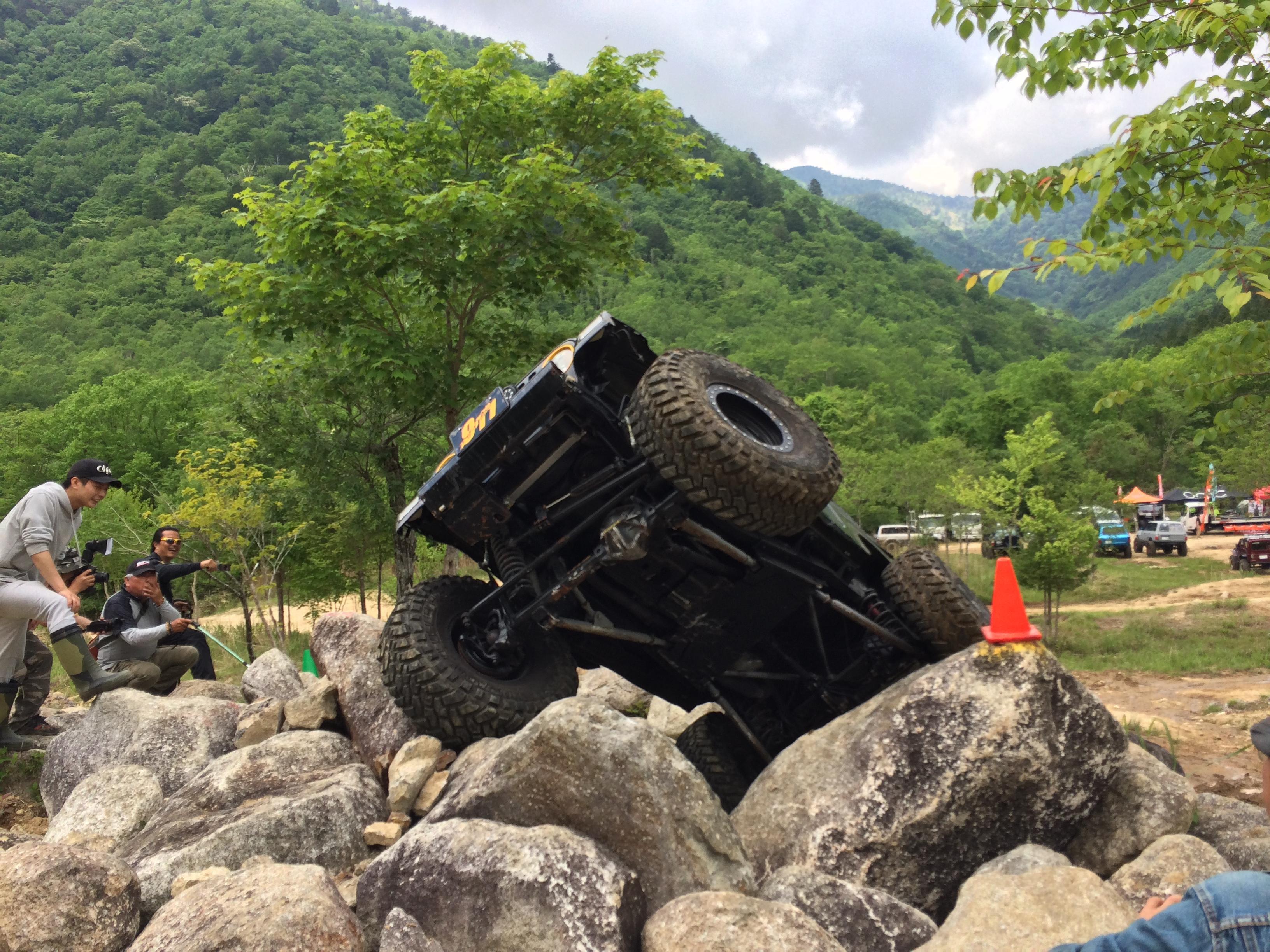 OCJC Rock Crawling 第1戦